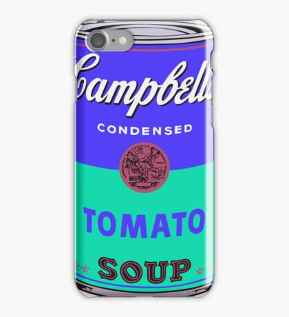 Campbell's Soup Can - Andy Warhol Print iPhone Case/Skin