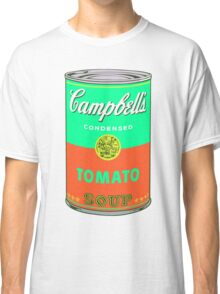 Campbell's Soup Can - Andy Warhol Print Classic T-Shirt