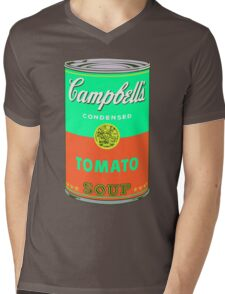 Campbell's Soup Can - Andy Warhol Print Mens V-Neck T-Shirt