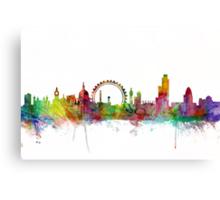 London England Skyline Canvas Print