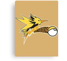 Instinct Thunderbirds Canvas Print