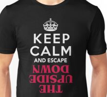 Keep Calm and Escape the Upside Down: Stranger Things T-Shirt Unisex T-Shirt