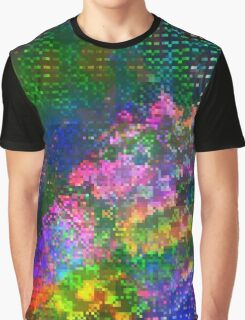 Psychedelic Glitch n.2 Graphic T-Shirt