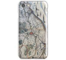 Vintage Map of Bruges Belgium (17th Century) iPhone Case/Skin
