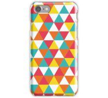 Triangle colourfull #1 iPhone Case/Skin