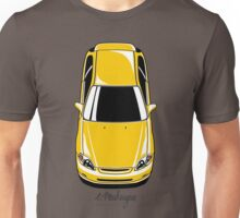 Honda Civic EK (yellow) Unisex T-Shirt