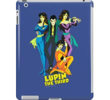 Lupin The Third iPad Case/Skin