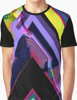 Psychedelic Glitch n.3 Graphic T-Shirt