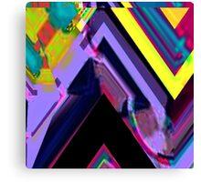 Psychedelic Glitch n.3 Canvas Print