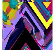 Psychedelic Glitch n.3 Photographic Print
