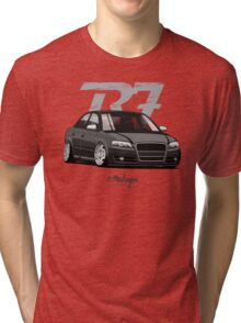 Audi A4 B7 (black) Tri-blend T-Shirt