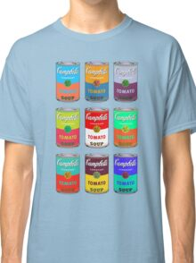 Andy Warhol Campbell's soup cans pop art Classic T-Shirt