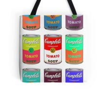 Andy Warhol Campbell's soup cans pop art Tote Bag