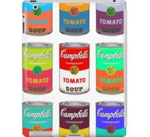 Andy Warhol Campbell's soup cans pop art iPad Case/Skin