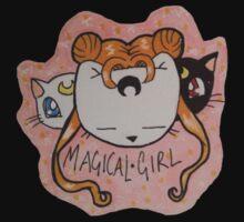 Usabjørn Magical Girl One Piece - Short Sleeve