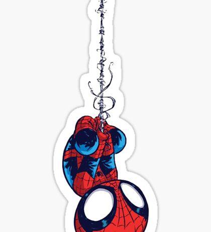 Spider boy Sticker