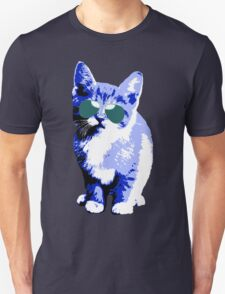 Chill Kitty (Blue) Unisex T-Shirt