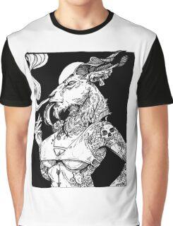 Goat Girl Graphic T-Shirt