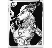 Goat Girl iPad Case/Skin