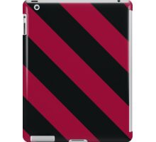Columbia South Carolina Burgundy/Red & Black Sports Team Color Stripes iPad Case/Skin