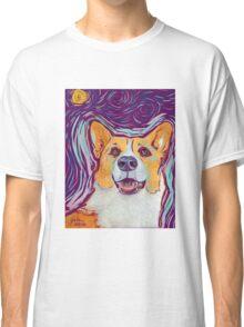 Stary Night Corgi Classic T-Shirt
