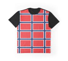 Norway Pattern (Norge) Graphic T-Shirt