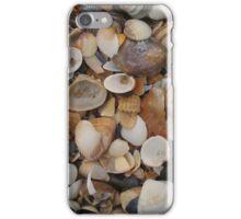 Seashells on the sea shore iPhone Case/Skin
