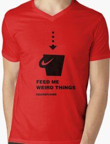 Squarepusher - Feed Me Weird Things - black Mens V-Neck T-Shirt