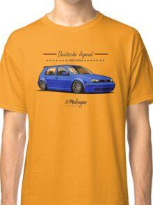 VW Golf MKIV (blue) Classic T-Shirt