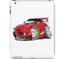 Mazda RX7 Caricature iPad Case/Skin