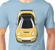 Honda NSX (yellow) Unisex T-Shirt