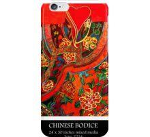 'Chinese bodice iPhone Case/Skin