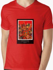 'Chinese bodice Mens V-Neck T-Shirt
