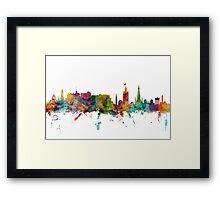 Edinburgh Scotland Skyline Framed Print