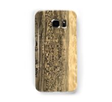 Vintage Pictorial Map of Paterson NJ (1880) Samsung Galaxy Case/Skin
