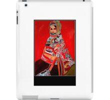 Ethnic woman number 2 iPad Case/Skin