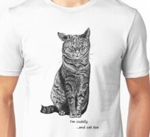 Cat droopy ear, graphic Unisex T-Shirt