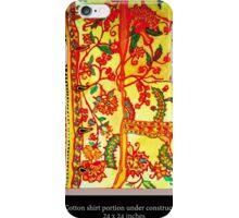 Indienne shirt iPhone Case/Skin