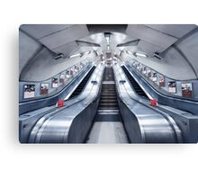 Escalator  Canvas Print