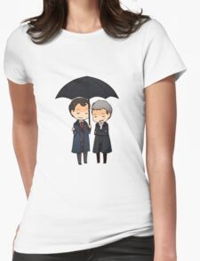 let me keep you dry  Womens Fitted T-Shirt
