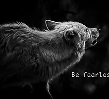 Wolf- be fearless by Heather Allen