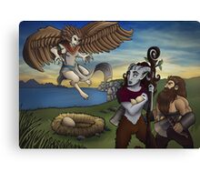 Fantasy World Canvas Print