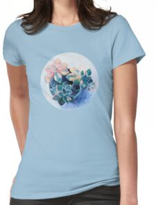 Pastel Succulents - an oil painting on canvas Womens Fitted T-Shirt
