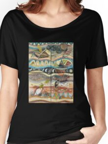 Tropical Fusions (Panels x 4) Women's Relaxed Fit T-Shirt