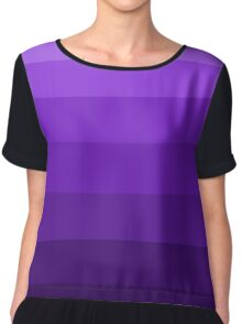 Dark Shades of Purple Chiffon Top