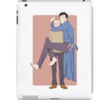 you're too old to be held iPad Case/Skin