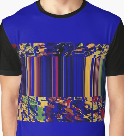 Geometry Glitch n.6 Graphic T-Shirt