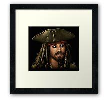 Captain Jack Framed Print