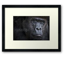 Your Mind is a Powerful Thing Framed Print