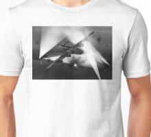 Short Stirling battling through B&W version Unisex T-Shirt